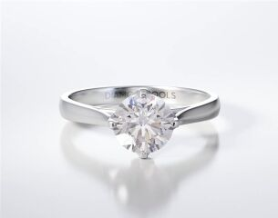 SOLITAIRE RING ENG015